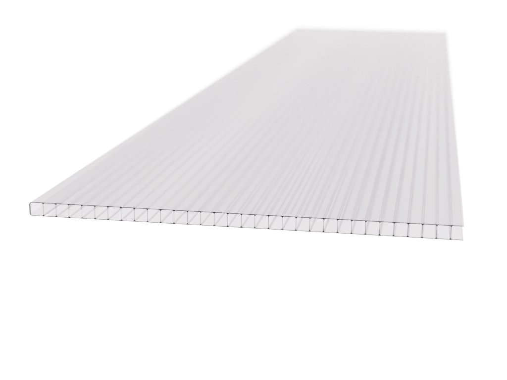 Polykarbonátová platňa LEXAN komorová 10 mm číra UV (Délka 2500, Šířka 2100)