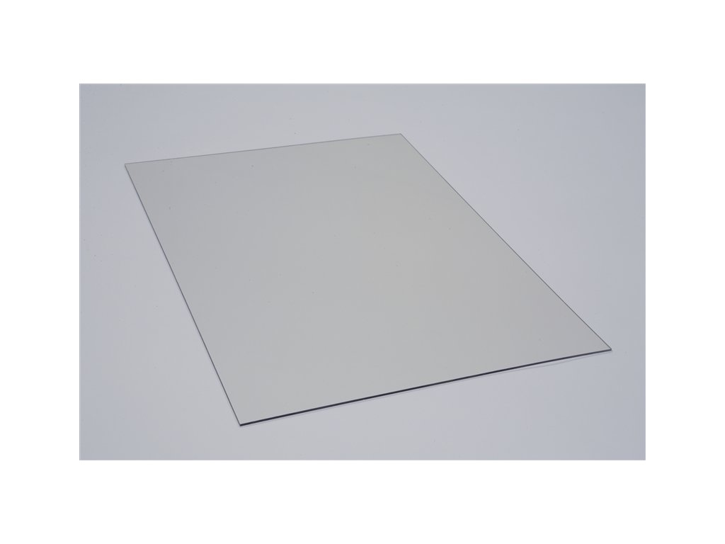 Polykarbonátová platňa LEXAN plná 2 mm číra UV (Šířka 1025, Délka 1015)