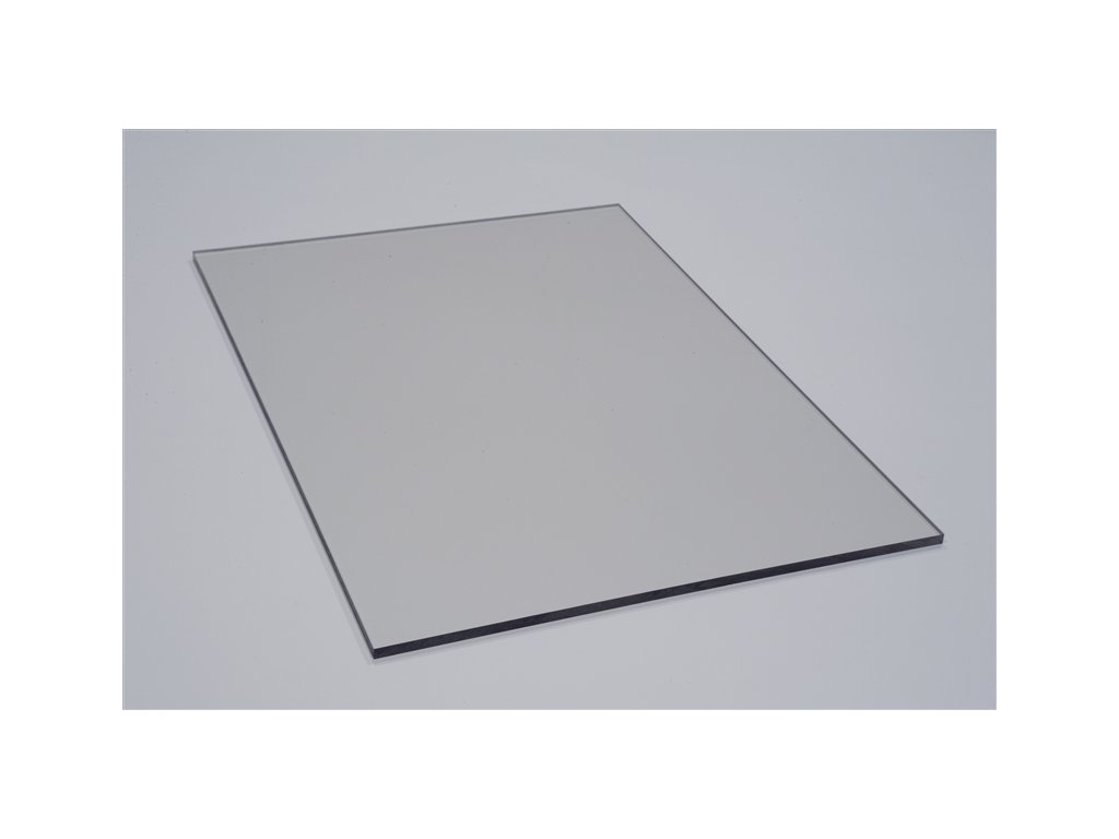 Polykarbonátová platňa LEXAN plná 4 mm číra UV (Šířka 1025, Délka 1015)
