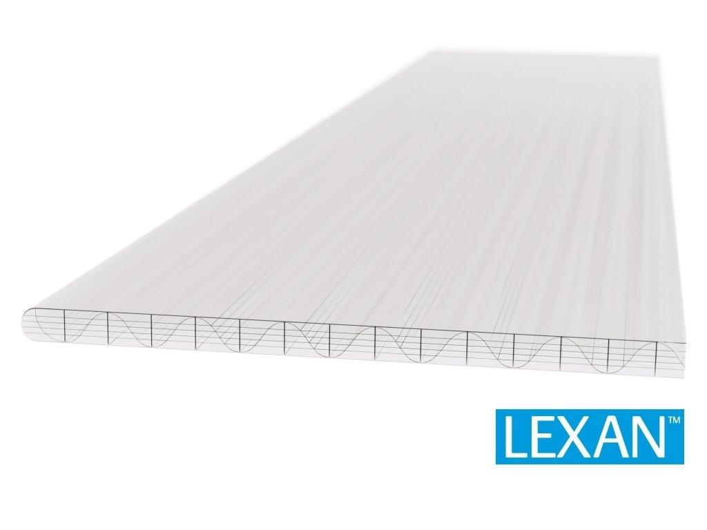 Polykarbonátová platňa LEXAN komorová 16 mm číra 2UV