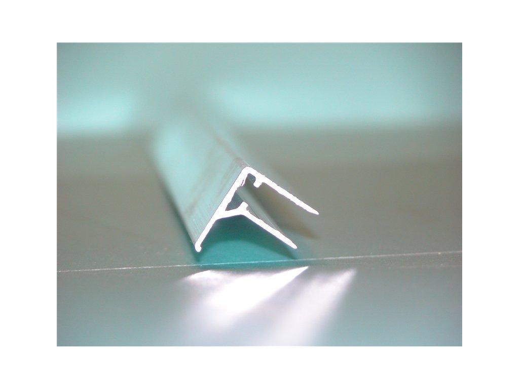 Hliníkový ukončovací profil F8 (Délka 2114)