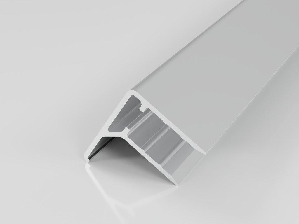 Hliníkový ukončovací profil F10