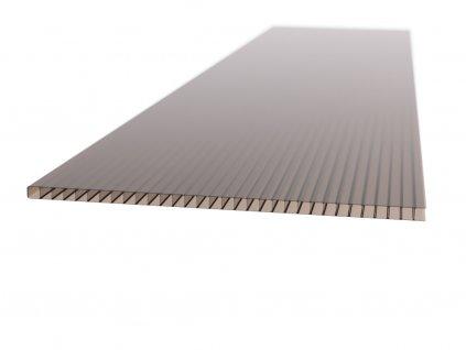 Polykarbonátová platňa LEXAN komorová 10 mm hnedá UV (Délka 1000, Šířka 1050)