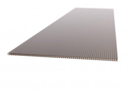 Polykarbonátová platňa LEXAN komorová 6 mm hnedá UV (Šířka 2100, Délka 1000)