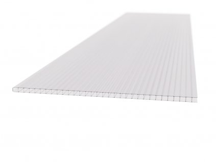 Polykarbonátová platňa LEXAN komorová 8 mm číra UV (Šířka 1050, Délka 1000)