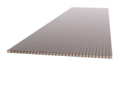 Polykarbonátová platňa LEXAN komorová 8 mm hnedá UV (Šířka 1050, Délka 2000)