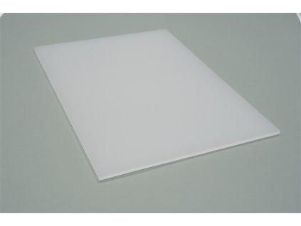 Polykarbonátová platňa LEXAN plná 3 mm biela UV (Šířka 1025, Délka 1015)