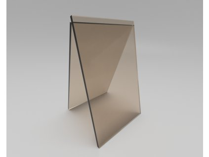 Plný polykarbonát bronz