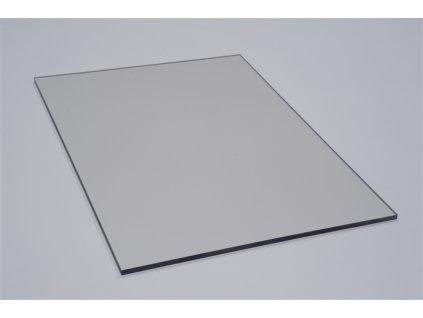 Polykarbonátová platňa LEXAN plná 5 mm číra 2UV (Šířka 1025, Délka 1015)