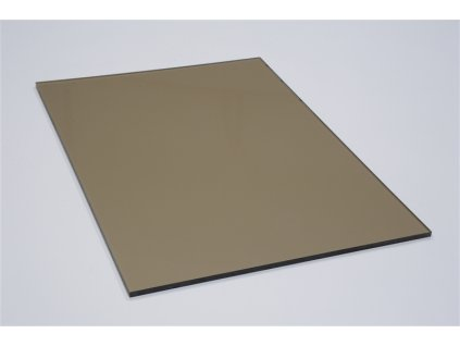 Polykarbonátová platňa LEXAN plná 6 mm hnedá UV (Šířka 1025, Délka 1015)
