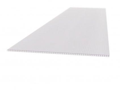 Polykarbonátová platňa Carboplak komôrková 4 mm číra s 1UV filtrom