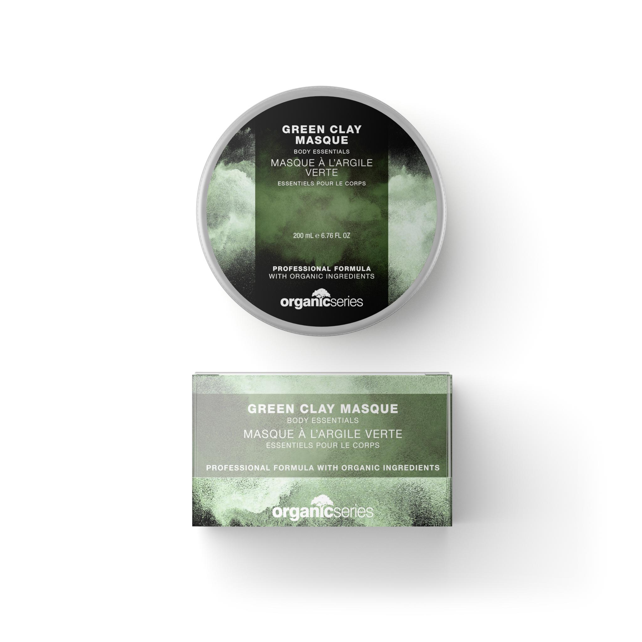 Pleťová maska se zeleným jílem: GREEN CLAY MASK 200 ml