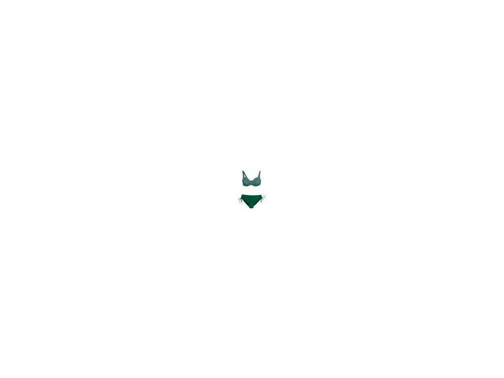 costume donna bikini 2 pezzi triumph venus elegance w pt verde coppa d e f (4)