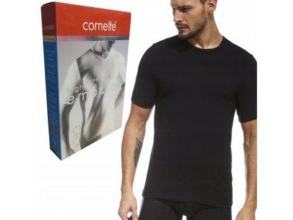 CORNETTE koszulka High Emotion 532 obcisla czarna