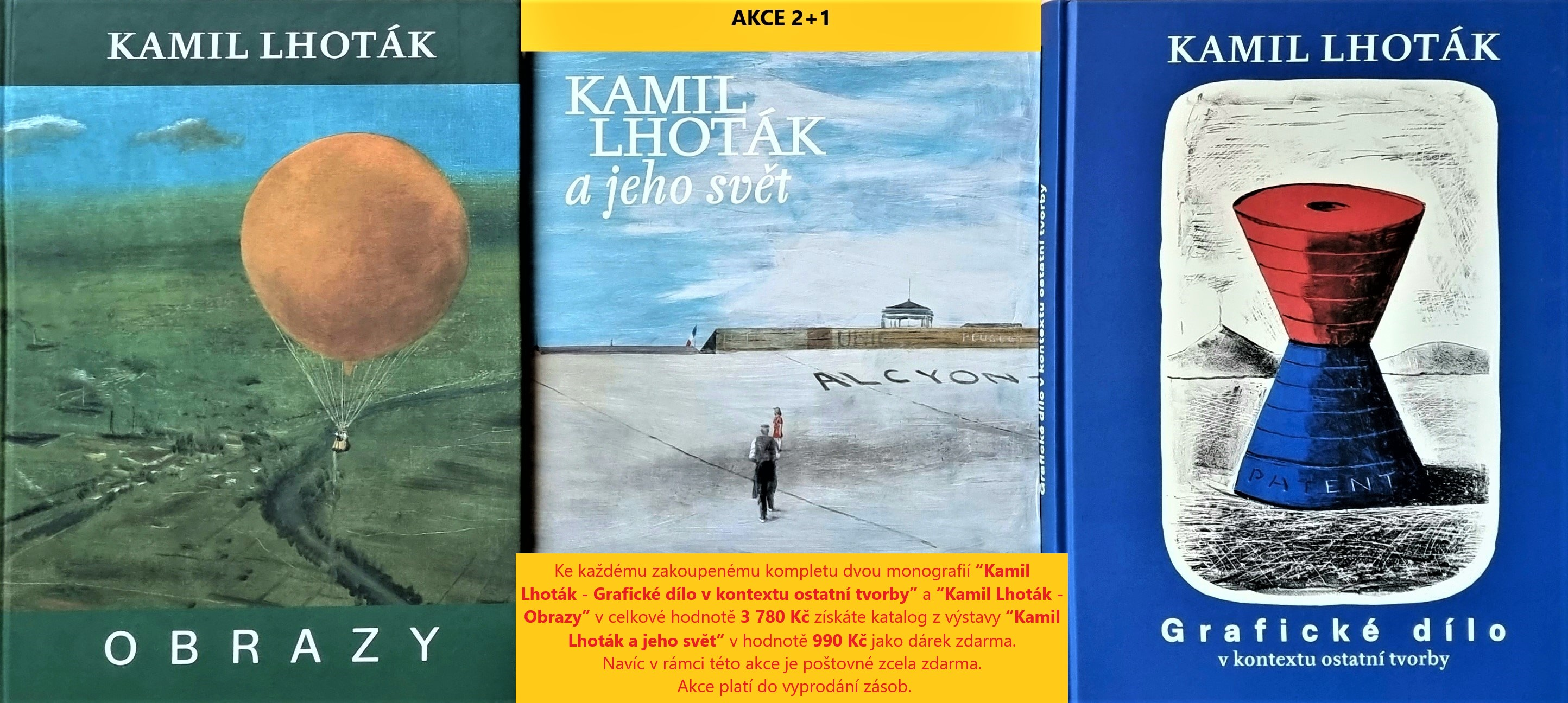 Kamil Lhoták -Akce 2+1