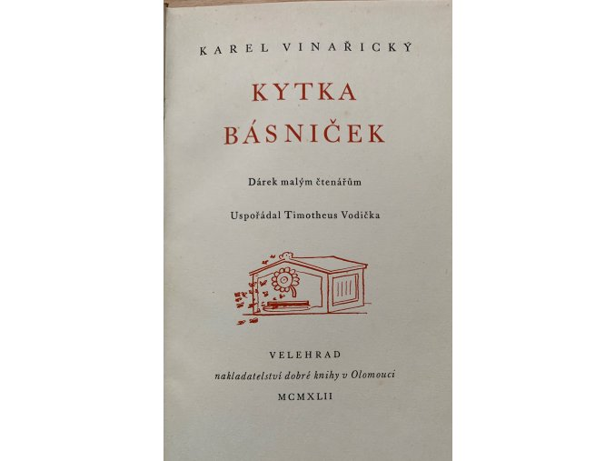 Karel Vinařický - Kytka básniček