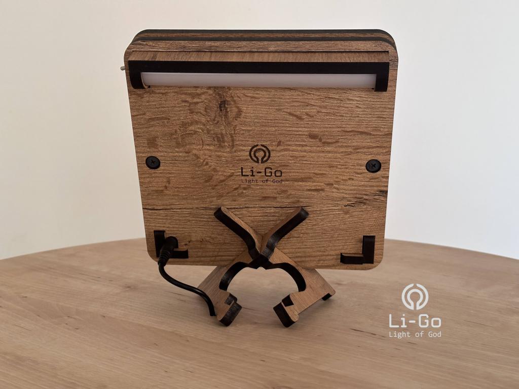 """""""Mandala Aum"""" lampa 19x19"""