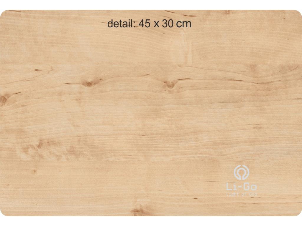 """""""List javoru"""" obrazové svítidlo 62x62cm"""