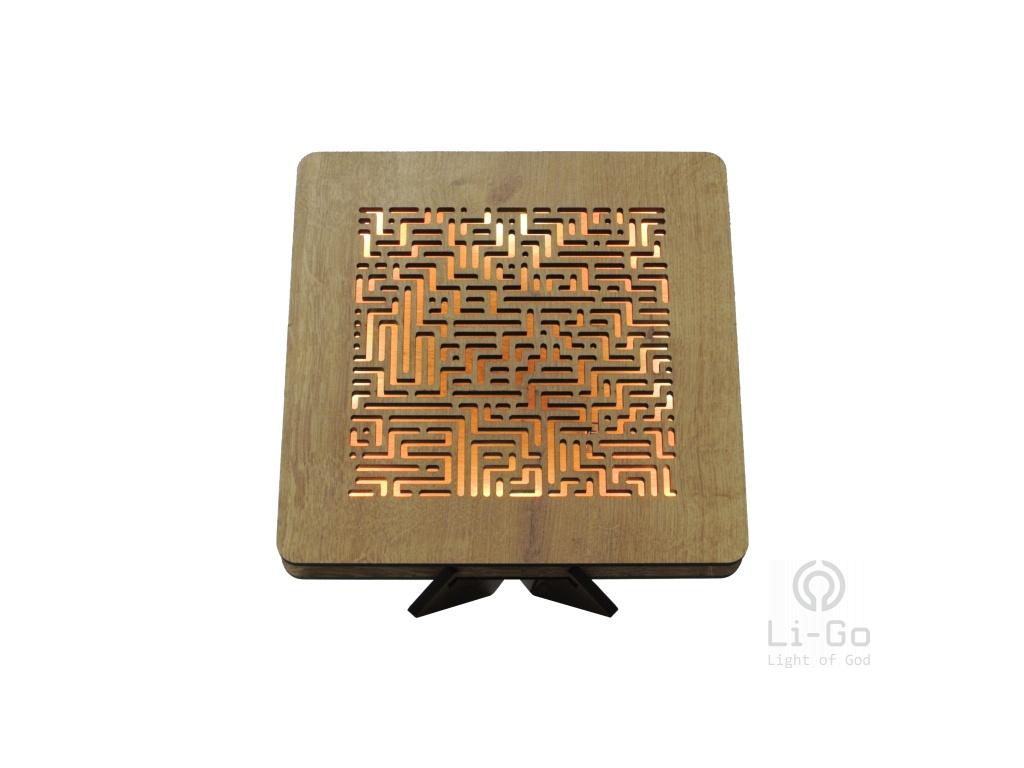 maze 99 dž 1 utb stolní LED lampa 31x31cm