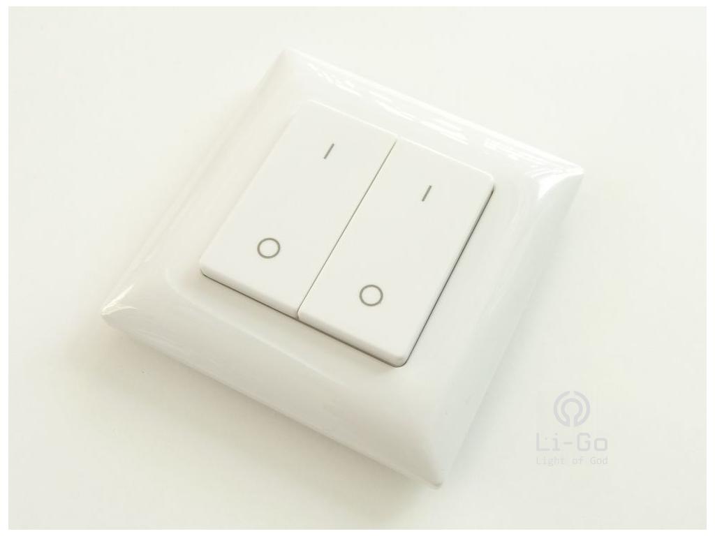 Dálkový ovladač LED svítidlům, dvojkanálový