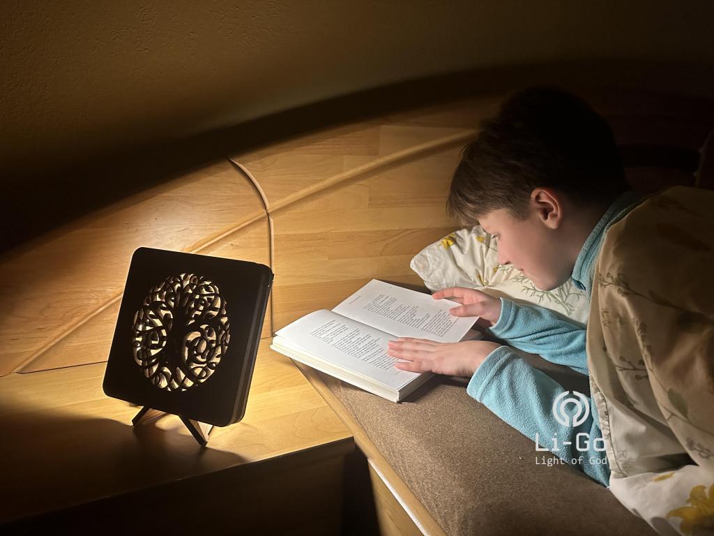 """""""Kůň"""" lampa 19x19"""