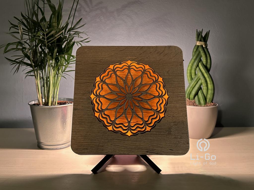 """""""Kolibřík"""" lampa 19x19"""