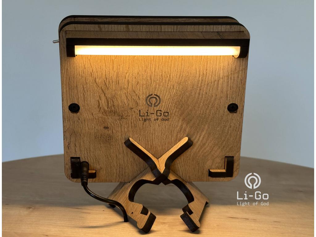 """""""Mandala list"""" lampa 19x19"""