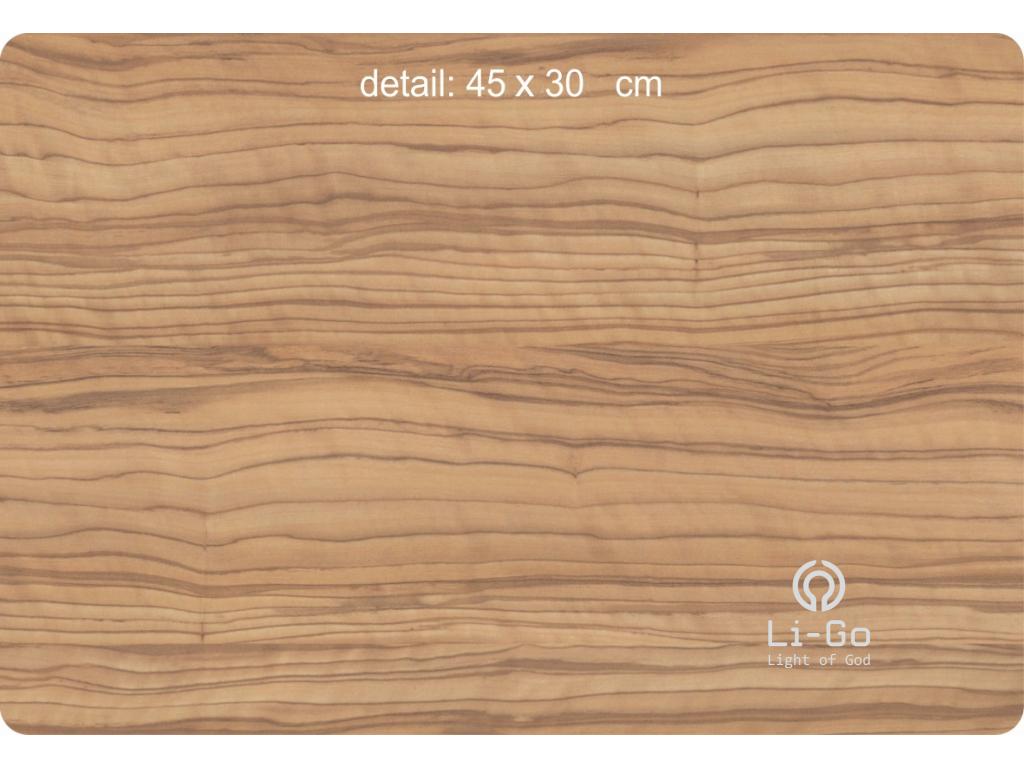 """""""List javoru"""" světelný obraz s baterií 62x62cm"""