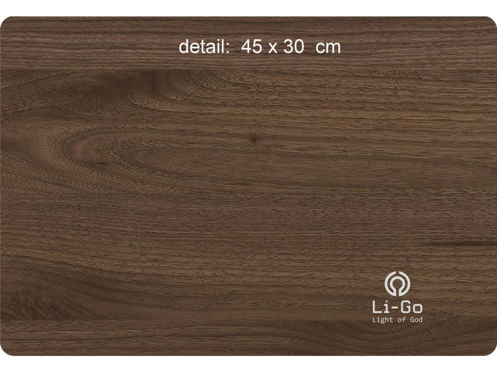 """Strom života"" obrazové svítidlo s power bankou 62x62cm"