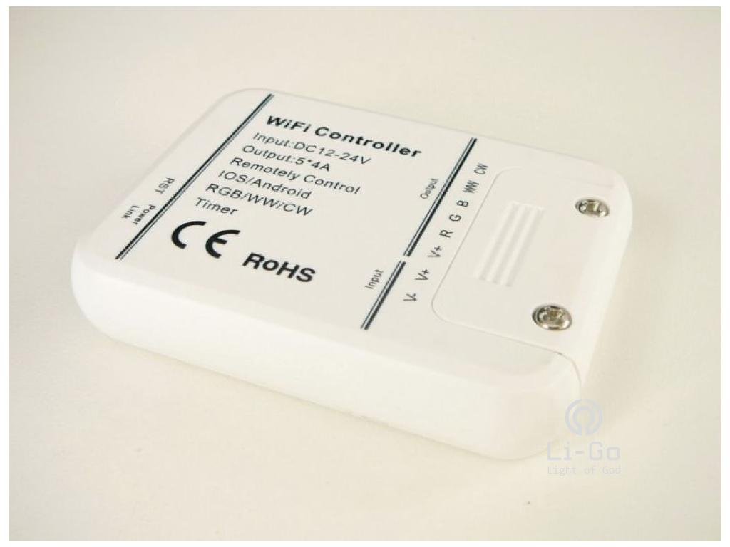 SMART WiFi LED ovladač RGB+WW+CW