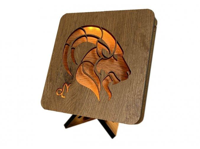 stolní LED lampička 17x17cm kozoroh 99 3