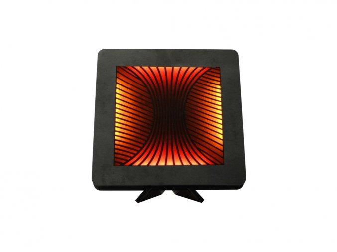 magma 22 červ+žlu 1 stolní LED lampička 31x31cm