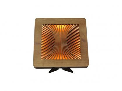 magma 99 dž 1 utb+žl stolní LED lampa 31x31cm
