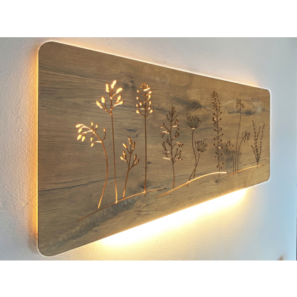 Additional LED-Light 60 cm for wall mounted light-images