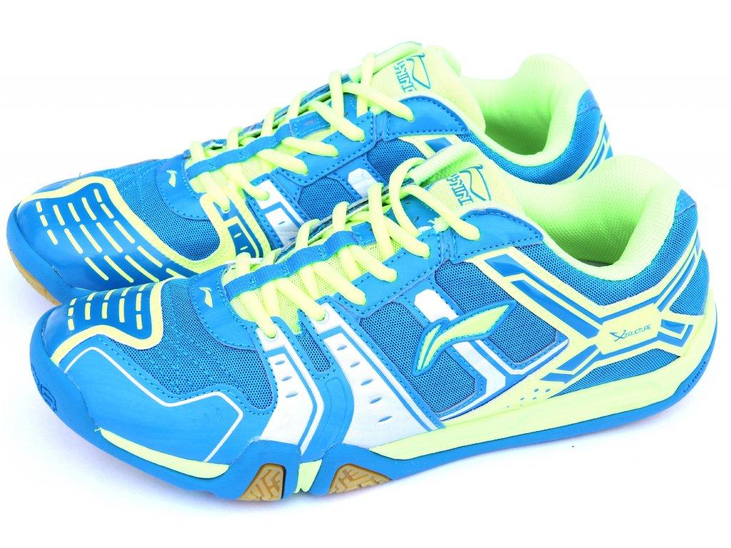 LI-NING Metall X STORM I, Flash Green, Pánská sálová obuv Velikost: 44