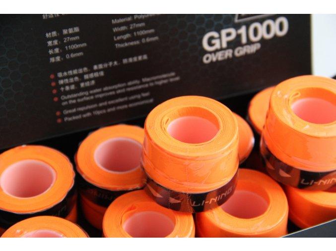 Omotávka Overgrip Glue - Orange - 10 kusů