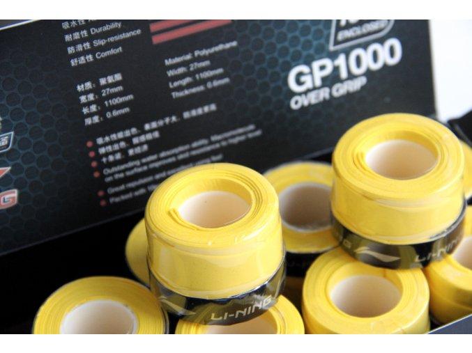 Omotávka Overgrip Glue - Yellow - 10 kusů