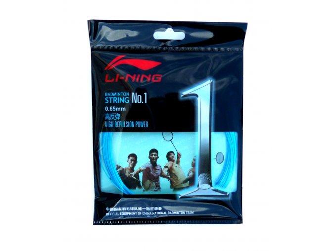 Badmintonový výplet LI-NING N.1 Blue 0,65 mm - modrá