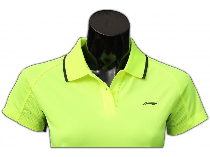 Sportovní triko s límečkem LI-NING Women 2016 Flash Green