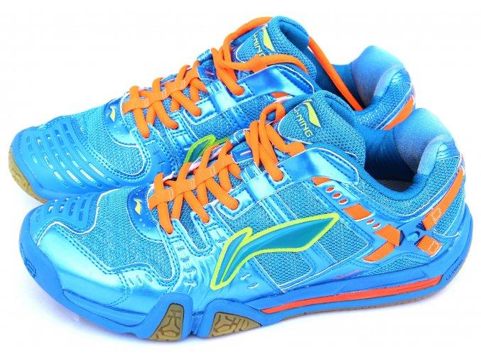 LI-NING Metall X II Ultimate Flash Blu, Pánská sálová obuv
