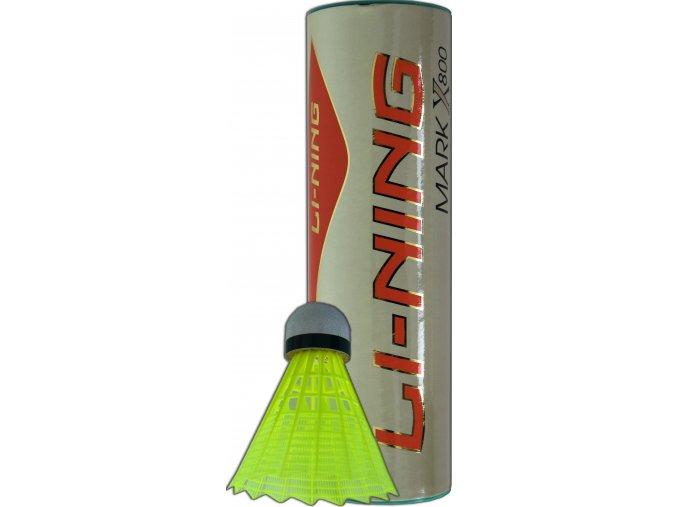 Plastové míče LI-NING MARK X800 Slow, žluté