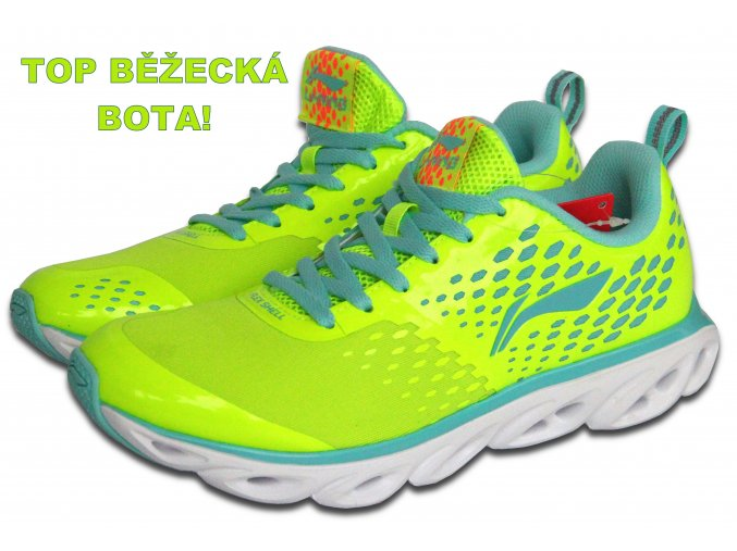 LI-NING BITE 2016 Flash Green, Dámská sportovní obuv