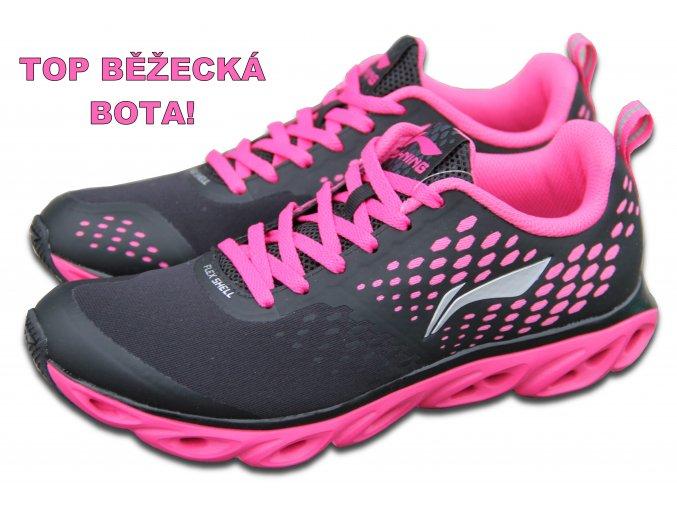 LI-NING BITE 2016 Flash Pink, Dámská sportovní obuv