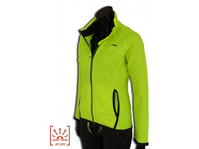 LI-NING BITE 2016, Fresh GREEN, Dámská sportovní bunda