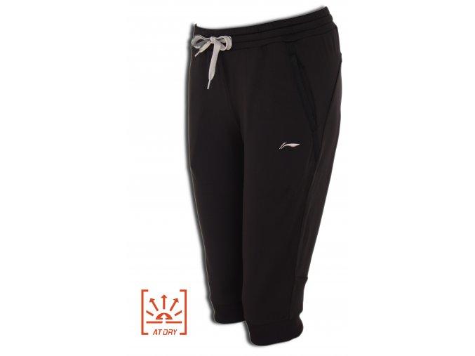LI-NING BITE 2016 Black, Dámské sportovní kalhoty, tříčtvrteční
