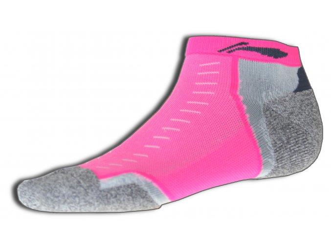 Sportovní ponožky LI-NING BITE 2016 Dámské - Flash PINK