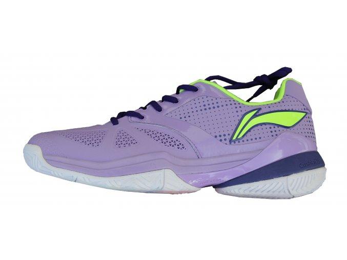 LI-NING PROFI 2016, fialová, TOP tenisová obuv