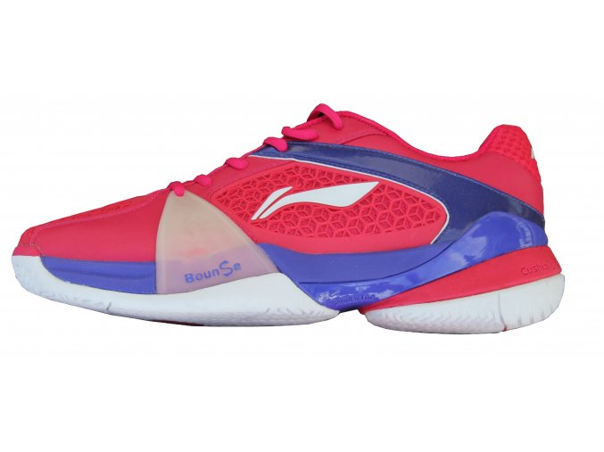 LI-NING PROFI 2016, červená/modrá, TOP tenisová obuv