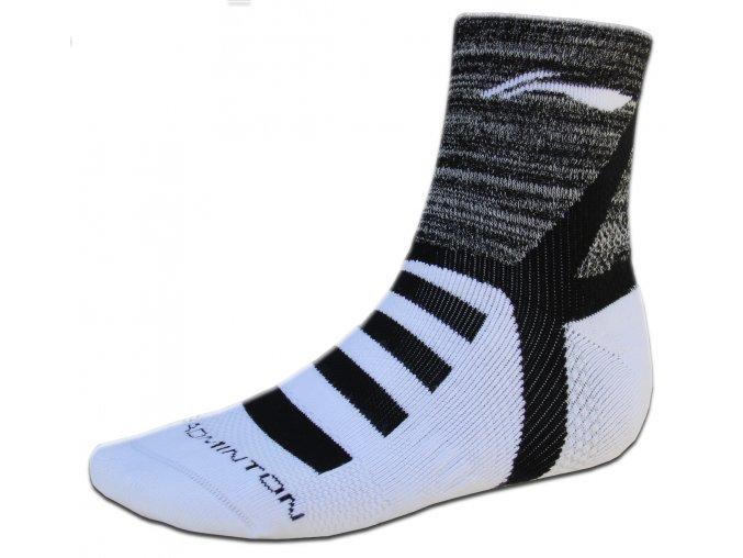 Ponožky COMFORT Badminton 2017/18, black - černá