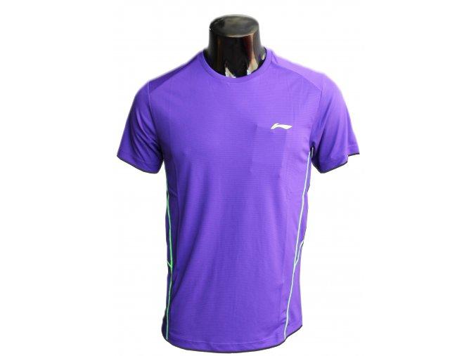Sportovní triko LI-NING  2017 - fresh Magenta - zářivá fialová, pánské